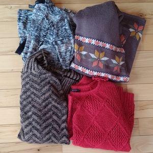 Sweater bundle lucky brand American eagle INC